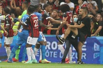 Un stade de Ligue 1 accepte d'accueillir Nice-OM. AFP