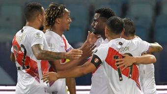 Colombia 1-2 Peru: La Tricolor fall as 2019 Copa runners-up open account. AFP