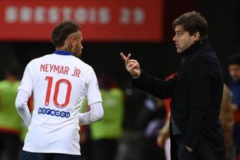 Pochettino comprend et rassure Neymar après sa sortie médiatique. AFP