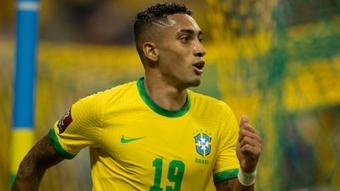 Em alta na seleção brasileira, Raphinha era sonho de Jorge Jesus. AFP