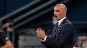 Roberto Martinez would not be drawn on Barca rumours. AFP