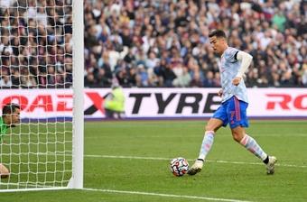 Nouveau record pour Cristiano Ronaldo qui dépasse Zlatan Ibrahimovic. AFP