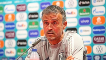 Spain are a top team but not the best in the world, says Luis Enrique. AFP