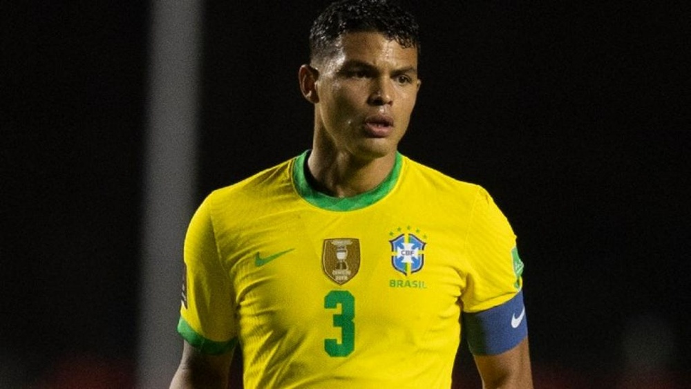Thiago Silva chega a 100 jogos pela seleção brasileira. AFP