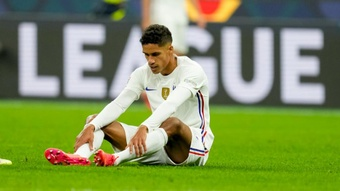 Varane out for 'a few' weeks. GOAL