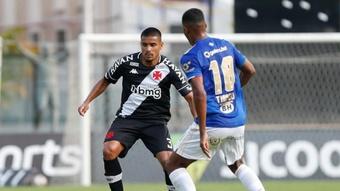Vasco não venceu o Cruzeiro. AFP